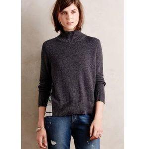 Anthropologie Moth Rona Turtleneck Sweater size S